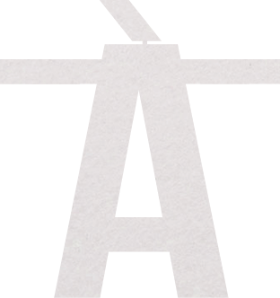 Speciaal teken À - Wit - voor stoffen naamslinger van Mevrouw Hendrik