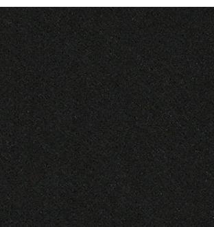 Speciaal teken Ú van vilt in zwart - Mevrouw Hendrik naamslinger vilt