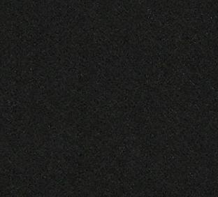Cijfer 1 van vilt in zwart - Mevrouw Hendrik stoffen verjaardagsslinger met naam