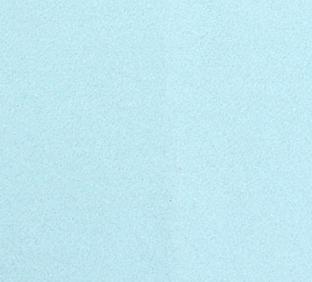 Cijfer 3 van vilt in lichtblauw - Mevrouw Hendrik stoffen verjaardagsslinger met naam vilt
