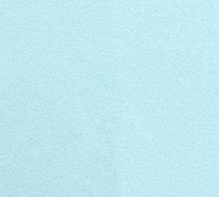 Letter D van vilt in lichtblauw - Mevrouw Hendrik vilten naamslinger