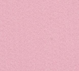 Letter F van vilt in lichtroze - Mevrouw Hendrik naamslinger vilt