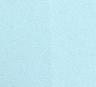 Letter K van vilt in lichtblauw - Mevrouw Hendrik vilten naamslinger