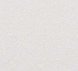 Letter L van vilt in wit - Mevrouw Hendrik naamslinger vilt