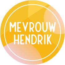 Logo Mevrouw Hendrik - Vilten naamslingers & letterslingers
