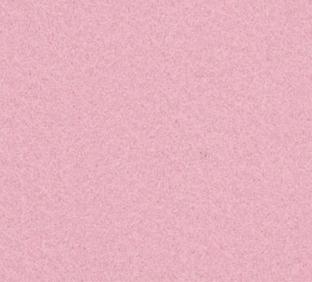 Letter M van vilt in lichtroze - Mevrouw Hendrik naamslinger vilt