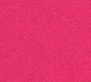 Letter N van vilt in fuchsia - Mevrouw Hendrik naamslinger vilt