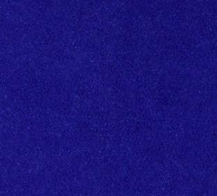 Letter Q van vilt in donkerblauw - Mevrouw Hendrik naamslinger vilt
