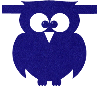 uil-donkerblauw