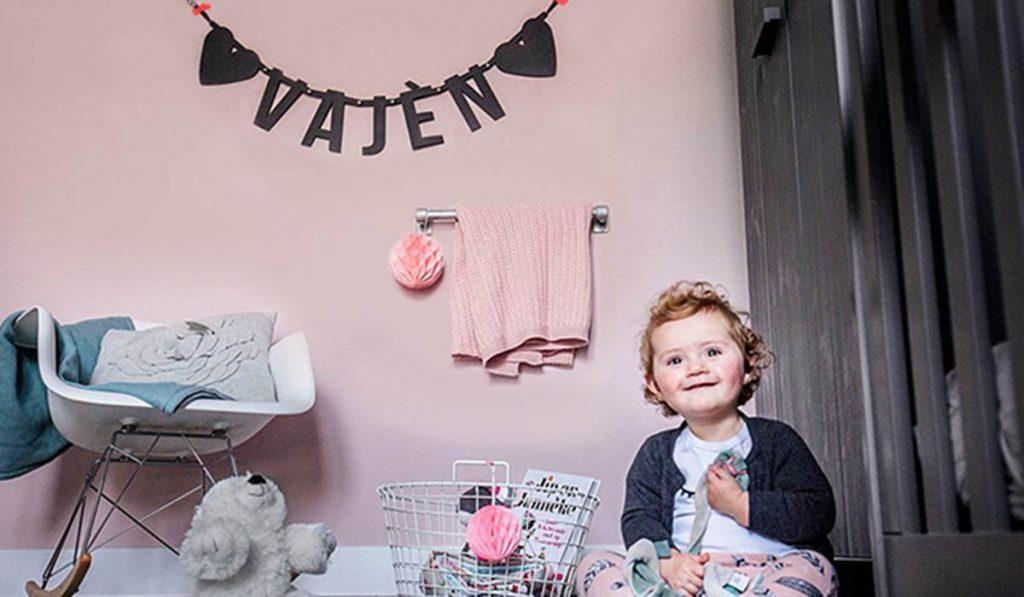 Inspiratie Vajèn vilten letterslinger Mevrouw Hendrik