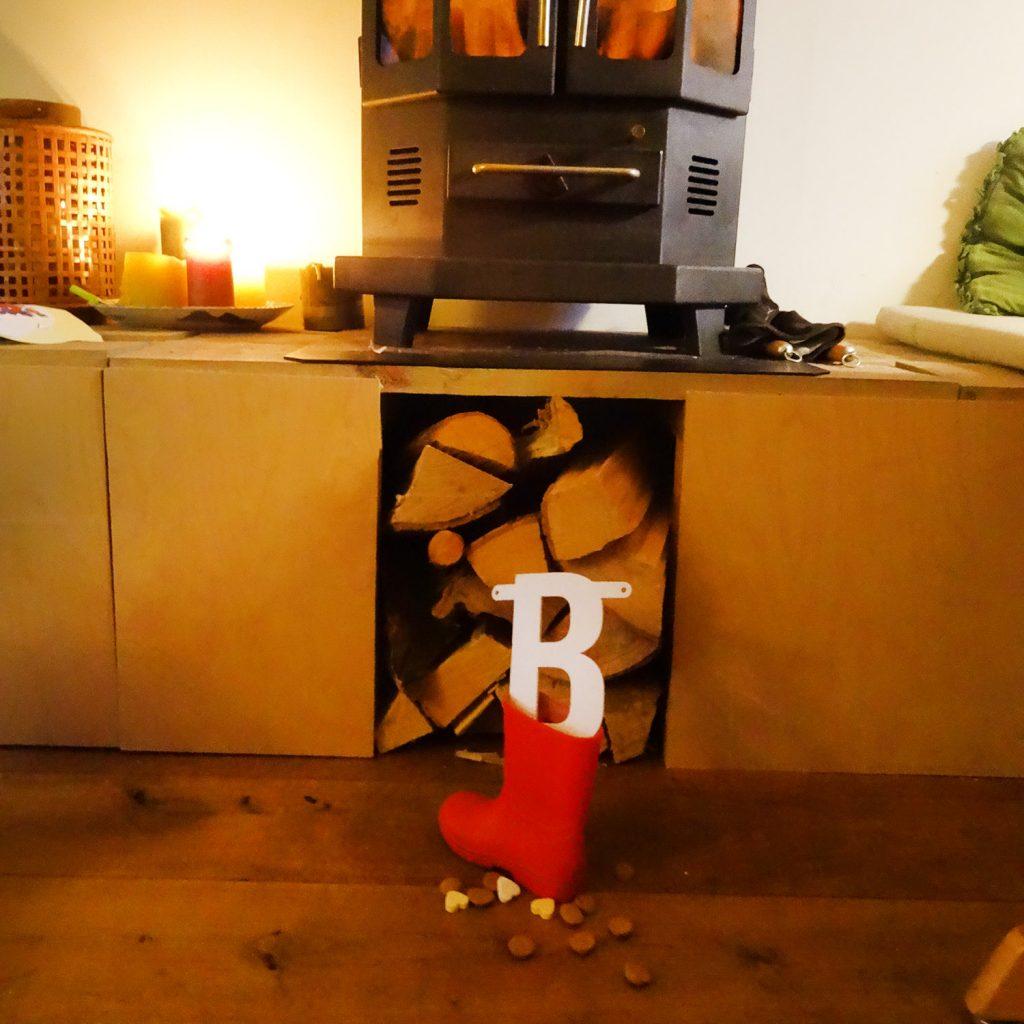Vilten letter in je schoen met Sinterklaas - Mevrouw Hendrik