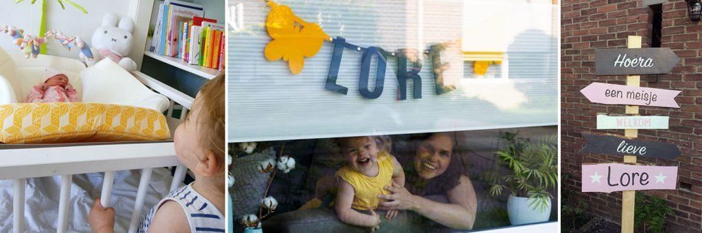 Hoera een meisje! Baby Lore werd geboren