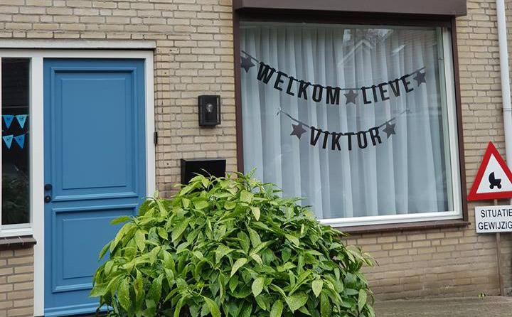Vilten Slinger Welkom Lieve Viktor van Mevrouw Hendrik