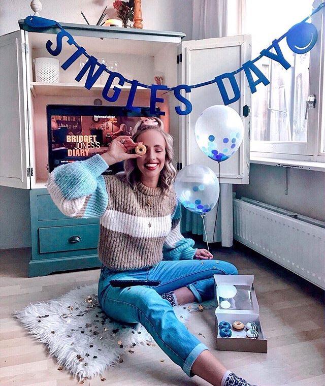 singles day campagne bij Bol.com: Mevrouw Hendrik mocht 65 vilten slingers leveren!