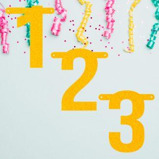 Voordeelpakket cijfers 1, 2, 3